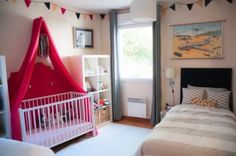 20 Amazing Shared Kids Room Ideas For Kids Of Different Ages Kidsomania | Kidsomania