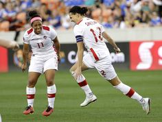 Canada's women's soccer team earns spot in Rio Olympics:  The Canadians beat Costa Rico 3-1 in the semifinal of a qualifying tournament to guarantee their spot at this summer's Games.  (Toronto Star 19 February 2016)