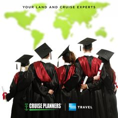 Graduation season is upon us. The world is beautiful place and filled with fantastic life lessons they will never forget. Let's give the gift of travel to the grad in your life. - http://ift.tt/1HQJd81