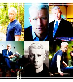 <3 me some Anderson Cooper He is a gorgeous man!