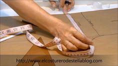 MOLDE BASE  DELANTERO - PANTALOSN  FEMENINO    Básico delantero del pantalón femenino- El costurero de Stella