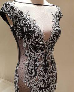 """""""Dress by @labourjoisie designer @nadimski For information 0096599942100 #labourjoisie #gown #emmy #emmys2015 #emmyawards #emmywinner #kuwait #dubai…"""""""