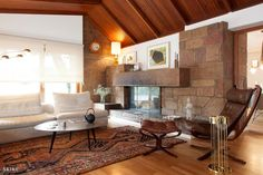House in Porto II, Living room Fireplace | Photo by: Francisco Rivotti | Porto | Skike Design