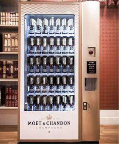 Moët & Chandon dispenser - I want this!!!