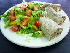 Frischkäse-Schinken-Birnen-Röllchen Rezept auf http://wellicious-bw.com/2014/07/11/frischkase-schinken-birnen-rollchen/#more-203 #rezeptidee #healthyeating