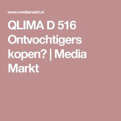 QLIMA D 516 Ontvochtigers kopen? | Media Markt