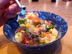 In-season eating: Spicy Summer Corn Chowder with Lobster