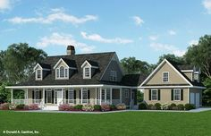 House Plan The Gwinett by Donald A. Gardner Architects