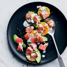 Salmon-and-Citrus Salad with Poppy Seed Dressing  | Food & Wine