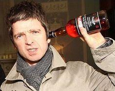 Noel Gallagher drink