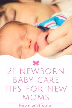 21 Newborn Baby Care Tips For New Moms Newborn baby tips for new moms. The newborn stage can be overwhelming and these life hacks for new moms will help make your life easier with your newborn. Newborn Baby Tips, Newborn Care, Newborn Babies, Newborns, Things For Newborn Baby, Newborn Room, Infant Care, Baby Kicking, Baby Care Tips