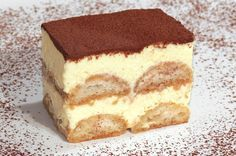 Tiramisu, No Bake Cake, Nutella, Italian Recipes, Good Food, Food And Drink, Baking, Eat, Ethnic Recipes