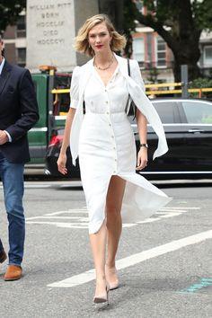 Celebrity Style Inspiration, Celeb Style, My Style, Work Outfits, New Outfits, Karlie Kloss Street Style, Style Watch, Celebrity Look, Celebs