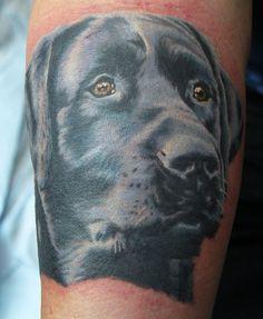 Labrador tattoo