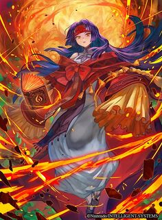 Ilustraciones completas - Sanaki - Artworks e imágenes - Galería Fire Emblem Wars Of Dragons