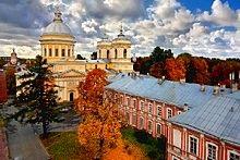 Alexander Nevsky Monastery in St.Petersburg