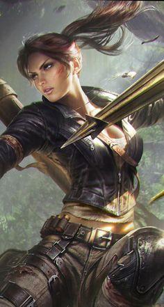 Lara Croft Lara Croft Tomb, Iphone 5 Wallpaper, Street Fighter, Comic Art, Artworks, Video Games, Characters, Videogames, Video Game