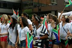 2012 World Choir Games: Celebration of Nations Parade: South Africa