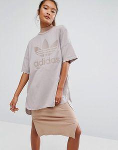 adidas Originals Oversized T-Shirt With Trefoil Logo
