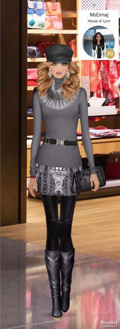"***Runway Royalty*** Covet Fashion Game-Styled by Jamie Lynn  AKA  ""Ms. Eimaj"""
