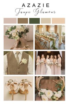 Taupe Glamour Wedding Color Scheme Taupe Glamour Wedding Color Scheme Azazie azazie Wedding Color Inspiration The OG neutral Taupe can be dressed up or down […] Wedding colors Taupe Wedding, Neutral Wedding Colors, Winter Wedding Colors, Wedding Color Schemes, Rustic Wedding, February Wedding Colors, Champagne Wedding Themes, Taupe Bridesmaid Dresses, Bridesmaids