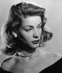 Lauren Bacall,c.1950; photo by John Engstead