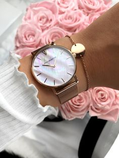 Cute Jewelry, Jewelry Necklaces, Jewellery, Fashion Jewelry, Women Jewelry, Rose Gold Pink, Stylish Watches, Pandora Jewelry, Fashion Watches