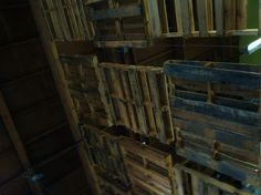 Hanging pallet wall II