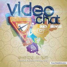 Participe do Videochat com o Pr. Udolcy! Não vá ficar de fora hein! Anota aí: aovivo.adventistas.org no dia 12/04 às 19h30