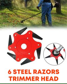 6 Steel Razors Trimmer Head Are You Tired of Jam Up during trimming? 🤔 🔥This blade is Indestructible and Solid!🔥 This Week Only: OFF & FREE Ship. Backyard Garden Design, Backyard Landscaping, Backyard Cottage, Balcony Garden, Amazing Gardens, Beautiful Gardens, Pergola Diy, Pergola Plans, Cool Tools