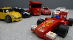 Shell x Lego Ferrari toy cars!!!!  It's F150° Italia!