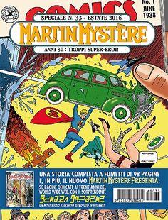 Martin Myster - Speciale 33 - L'ambientazione anni 30', il Flip Book i rifrimenti a Verne e Siegel - Il BVZM che amiamo G (!!!!)