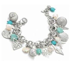 Brighton Caribbean Charm Bracelet to purchase call NCH Galleries at (951)734-5989