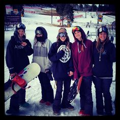 More of our awesome groupies! #northstarattahoe #ski #snowboard #arctivity  2d