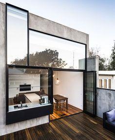 """originalhousedecoracion: """"Una casa minimalista, con espacios abiertos y con mucha luz ¡Nos encanta! """""""