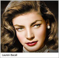 Lauren Bacall New York, 16 settembre 1924 – New York, 12 agosto 2014 attrice e modella statunitense.