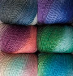 Chroma Worsted Yarn - pretty new colors!