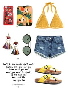 """""""~Be Unique~"""" by soso-alliso ❤ liked on Polyvore featuring SHE MADE ME, H&M, MANGO, Dolce&Gabbana, Lizzie Fortunato, Boohoo and Italia Independent"""