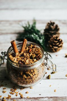 Christmas Granola Recipe