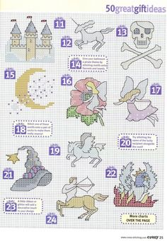 Gallery.ru / Фото #17 - Cross Stitch Crazy 110 - WhiteAngel