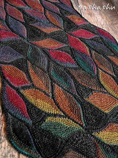 Ravelry: Scarf Dryad pattern by Svetlana Gordon
