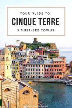 Visiting Cinque Terre is a must for any type of traveler. This coastal region is a string of five seaside villages located in northern Italy. Sorrento Italy, Sicily Italy, Naples Italy, Venice Italy, Canada Travel, Travel Usa, Toscana Italy, Tuscany, Madrid
