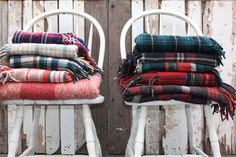 warm wool blankets for a chilly night - wedding ideas
