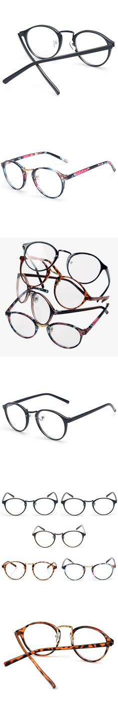 Arrivals Fashion Beautiful Retro Round Clear reading frame Eyeglasses Five Styles Both Eyewear For Man And Women Glasses