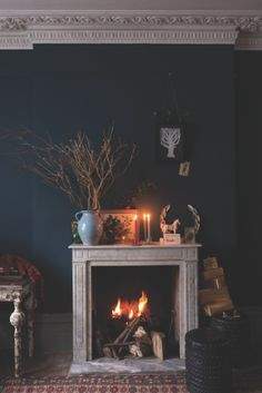 10 cosy fireplace decorating ideas - The Chromologist
