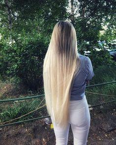 ⚜️Мастер наращивания ВОЛОС⚜️ (@angelika_levites) • Instagram photos and videos Super Long Hair, Big Hair, Beautiful Long Hair, Amazing Hair, Wow Hair Products, Hair Growth Tips, Pretty Face, Hair Goals, Hair Pins