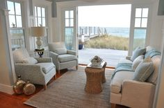 Salt Marsh Road - Casabella Interiors.   Can you smell the sea air?