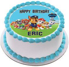 Paw Patrol 6 Edible Birthday Cake Topper