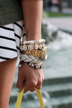 bangles #bracelets #armparty #armcandy #fashion #outfit
