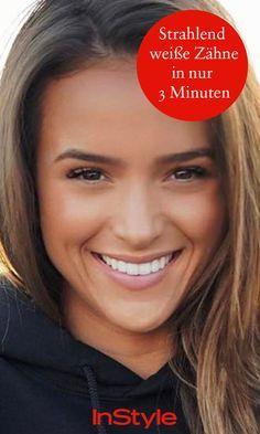 Du willst strahlend weiße Zähne wie Helen Owen? Mit diesem DIY-Trick klappt's in Minuten.